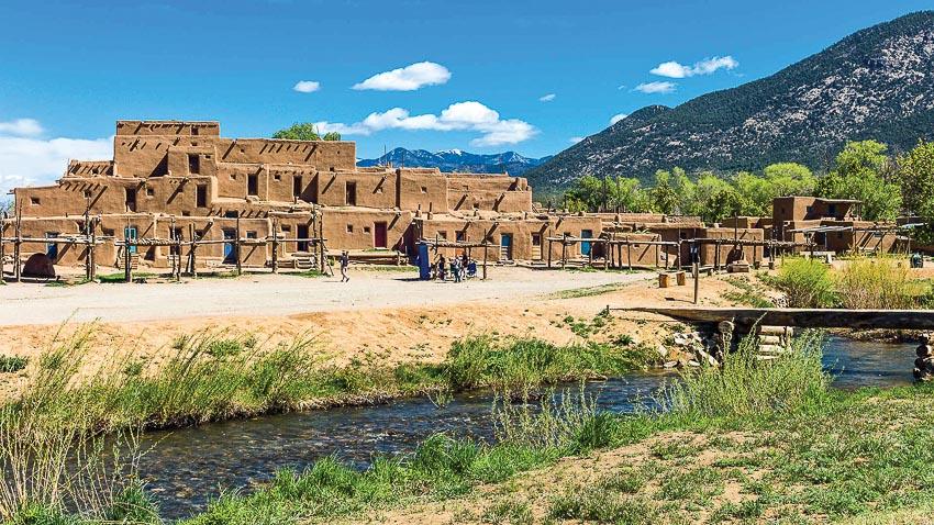 thành phố Taos bang New Mexico 3