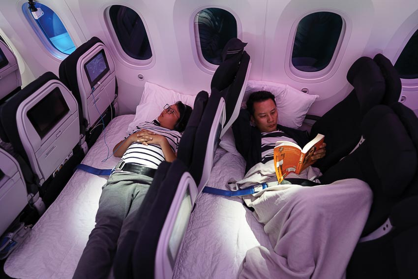 Bay đến New Zealand cùng hai hãng hàng không cao cấp 1