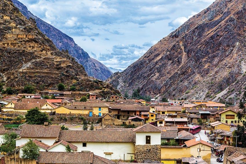 Thị trấn cổ trong khu vực Ancash của Peru