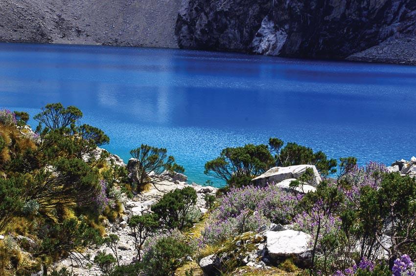 Có rất nhiều hồ nước tuyệt đẹp trong vườn quốc gia Huascaran