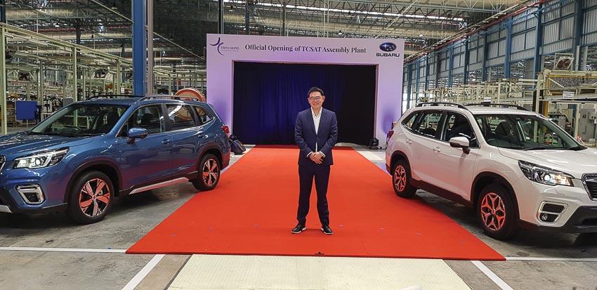 Việt Nam là thị trường quan trọng trong chiến lược phát triển của thương hiệu Subaru tại Đông Nam Á 6