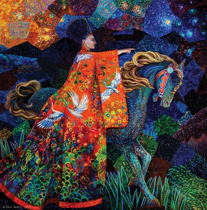 Một tác phẩm mới gần gũi với tranh Gustav Klimt