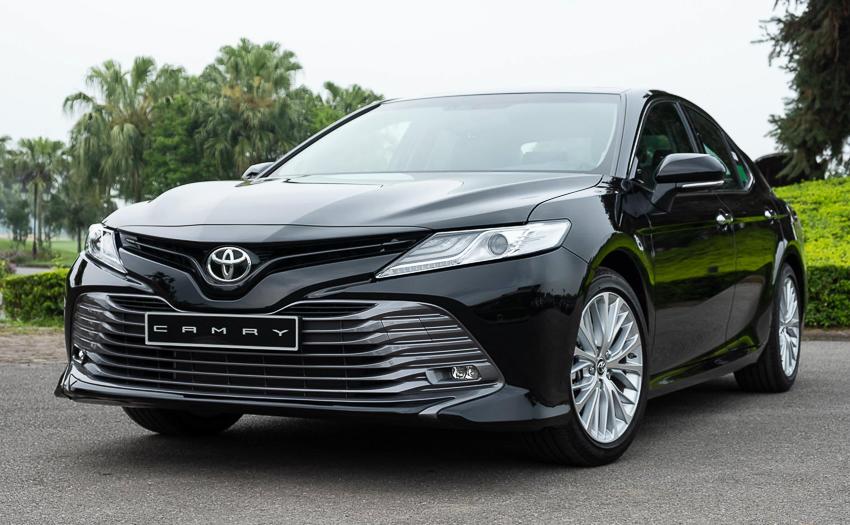 Sedan hạng D Toyota Camry 2019 14