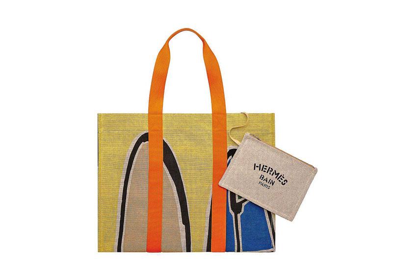 Túi xách Hermès thích hợp với những chuyến đi biển hoặc dạo phố