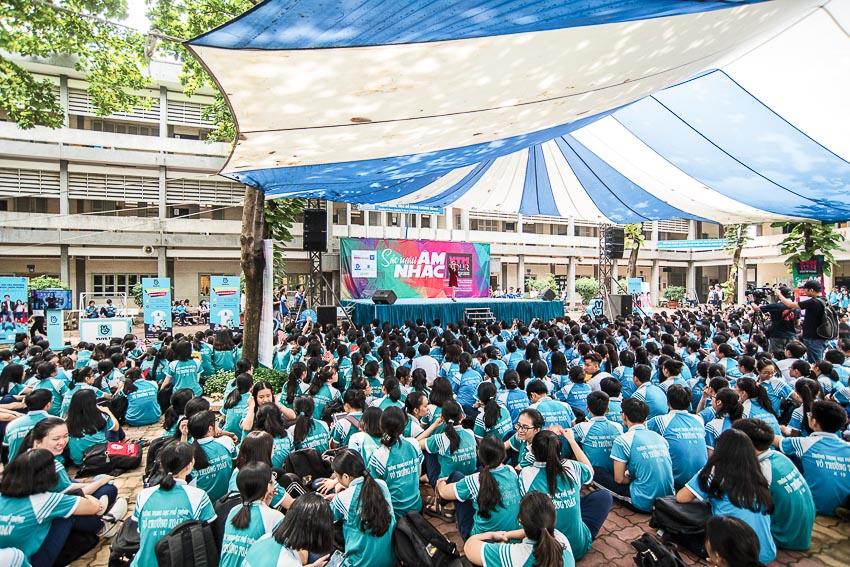 Hàng chục ngàn học sinh chào hè 2019 sôi động cùng VTM Tour 2