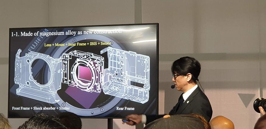 Fujifilm vừa ra mắt chiếc máy Medium Format không gương lật GFX 100 - 5