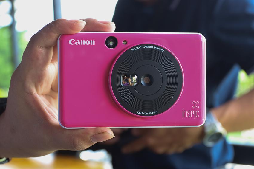Canon lần đầu ra mắt máy chụp ảnh lấy liền iNSPiC và in ảnh mọi lúc mọi nơi - 1