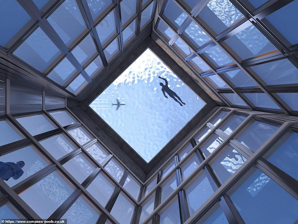Infinity London giới thiệubể bơi vô cực 360 độ đầu tiên trên thế giới - 2