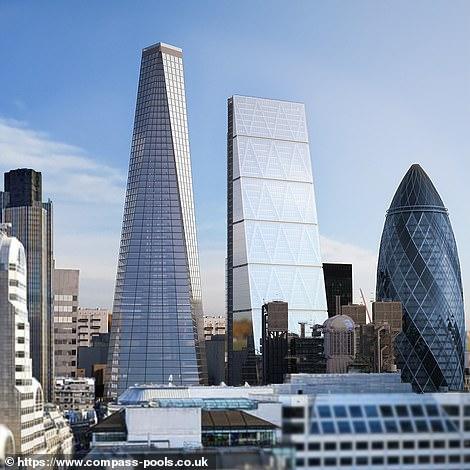 Infinity London giới thiệubể bơi vô cực 360 độ đầu tiên trên thế giới - 4