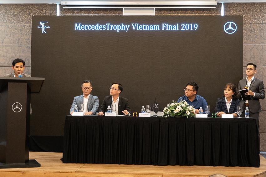 Chiều ngày 8-6-2019, buổi giới thiệu giải golf Chung kết Quốc gia MercedesTrophy Việt Nam 2019 đã diễn ra tại sân golf Tân Sơn Nhất, TP.HCM.