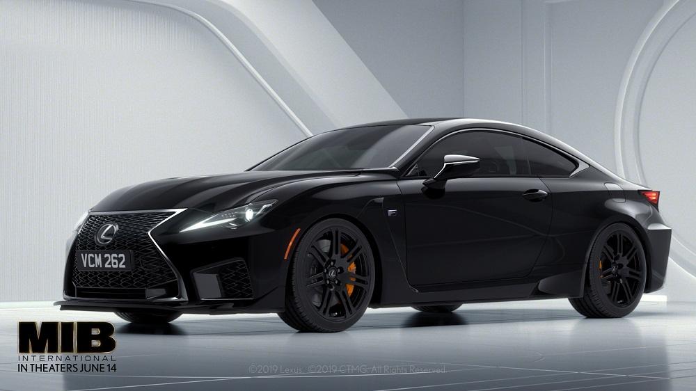"""Công chiếu phim bom tấn """"MIB"""" siêu đặc vụ áo đen với siêu xe thể thao Lexus RC F - 11"""