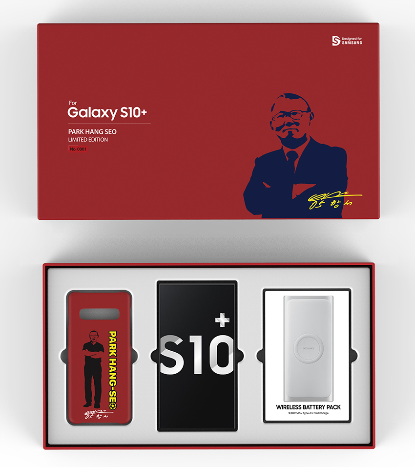 Galaxy S10+ phiên bản giới hạn Park Hang Seo chính thức lên kệ - 2