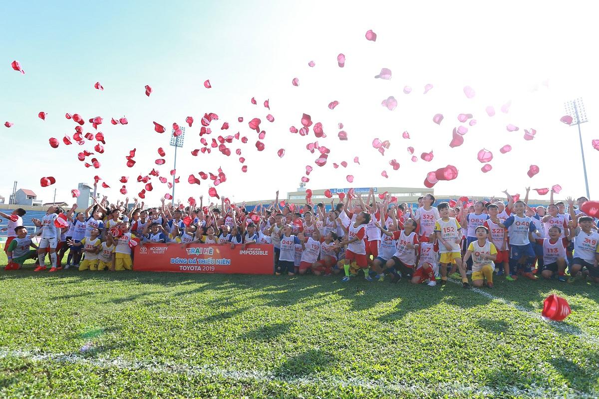 Trại hè Bóng đá Thiếu niên Toyota 2019 vòng sơ tuyển tại Nam Định và Bình Dương - 2