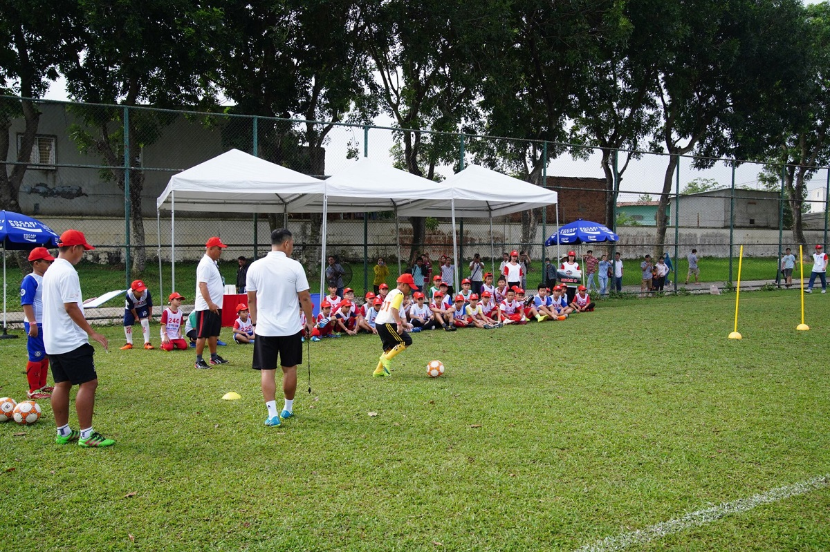 Trại hè Bóng đá Thiếu niên Toyota 2019 vòng sơ tuyển tại Nam Định và Bình Dương - 4