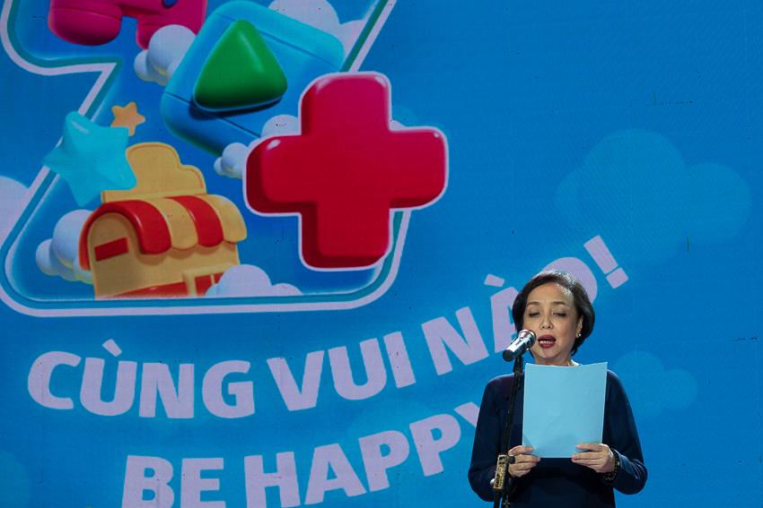 Bà Lê Thị Phương Thủy, Chủ tịch và Tổng giám đốc của DPM.
