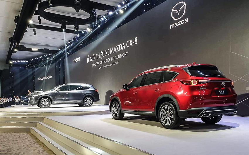 Mazda CX-8 mới giá từ 1,15 tỷ với trang bị tiện nghi và an toàn hàng đầu trong phân khúc - 4