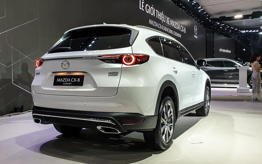 Mazda CX-8 mới giá từ 1,15 tỷ với trang bị tiện nghi và an toàn hàng đầu trong phân khúc - 8