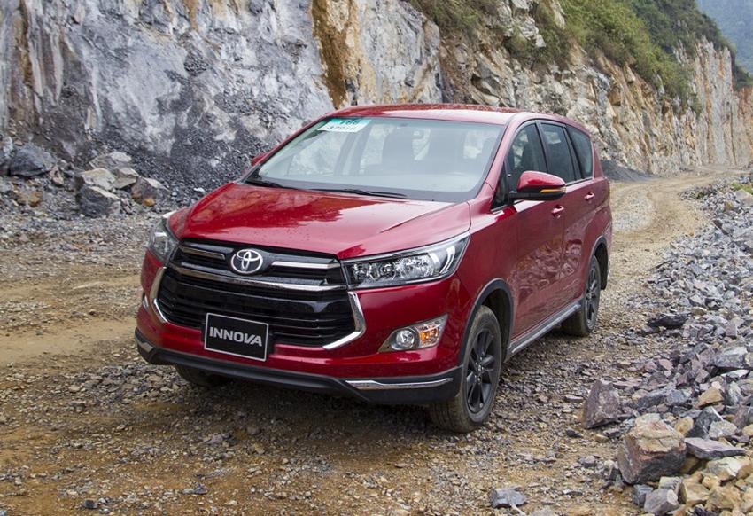 Doanh số bán hàng của Toyota Việt Nam tháng 5/2019