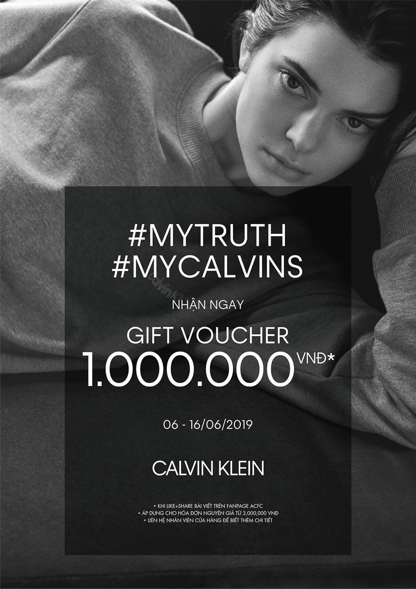 """Calvin Klein làm dậy sóng làng thời trang thế giới bằng chiến dịch """"I Speak My Truth in #MyCalvins"""" và sự hồi sinh phong cách cổ điển Mỹ trong BST mới nhất 2"""