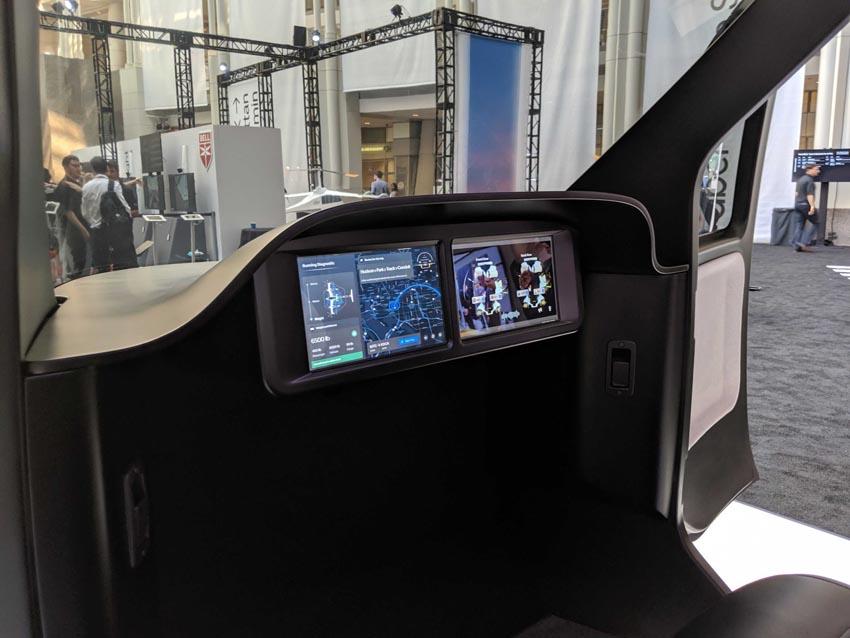 Cận cảnh nội thất taxi bay chở khách đầu tiên của Uber - 11