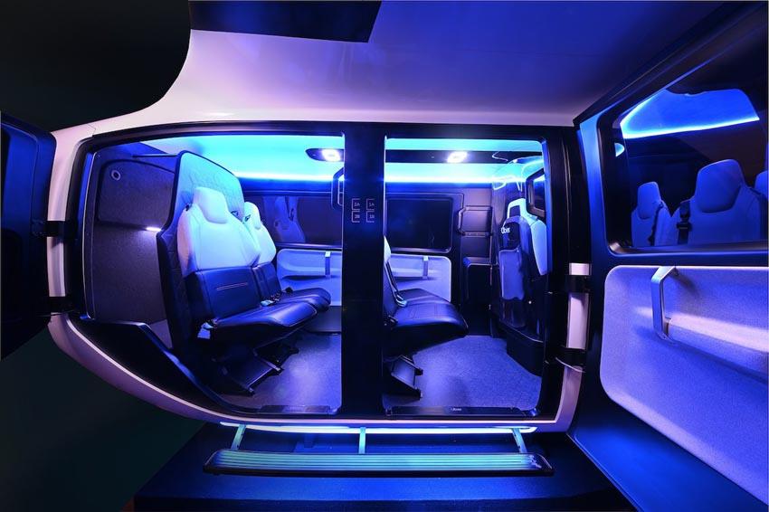 Cận cảnh nội thất taxi bay chở khách đầu tiên của Uber - 3