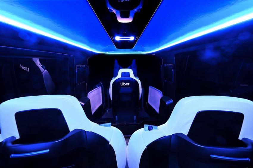 Cận cảnh nội thất taxi bay chở khách đầu tiên của Uber - 4