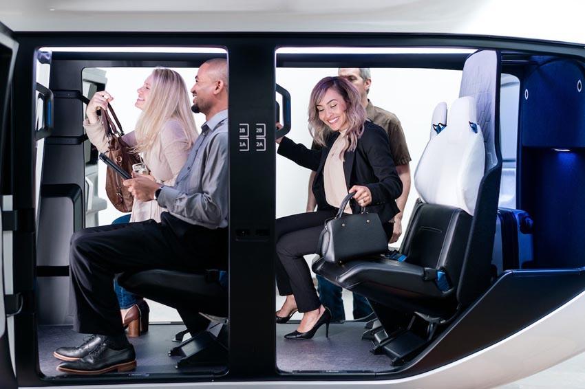 Cận cảnh nội thất taxi bay chở khách đầu tiên của Uber - 7