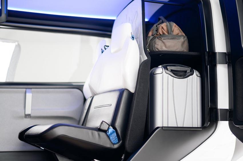 Cận cảnh nội thất taxi bay chở khách đầu tiên của Uber - 8