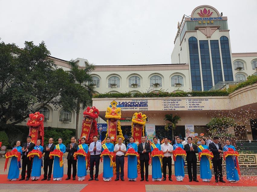 Lễ khai trương chi nhánh Lữ hành Saigontourist - Nghệ An.