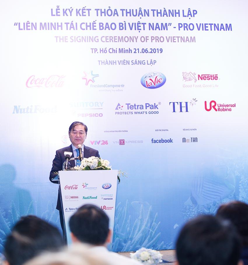 Thành lập Liên minh Tái chế Bao bì Việt Nam - PRO Vietnam 2