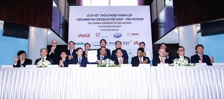 Thành lập Liên minh Tái chế Bao bì Việt Nam - PRO Vietnam 5