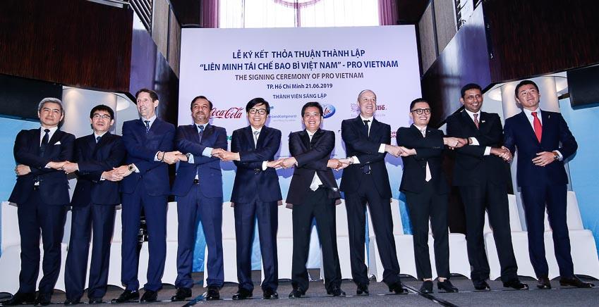 Thành lập Liên minh Tái chế Bao bì Việt Nam - PRO Vietnam 1
