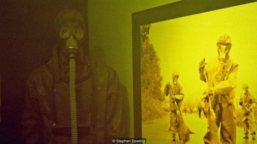 Một trong những căn phòng được sử dụng để đưa ra những biện pháp đối phó nếu xảy ra cuộc tấn công hạt nhân