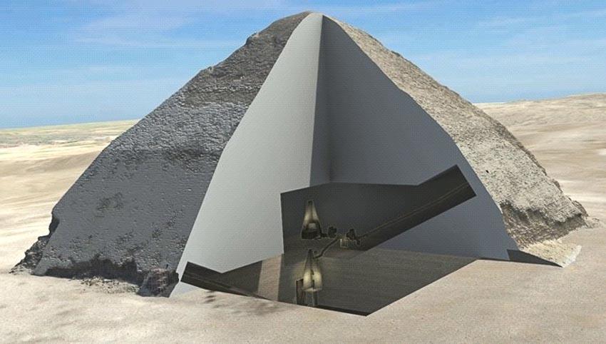 Những phòng bí mật bên trong các kim tự tháp