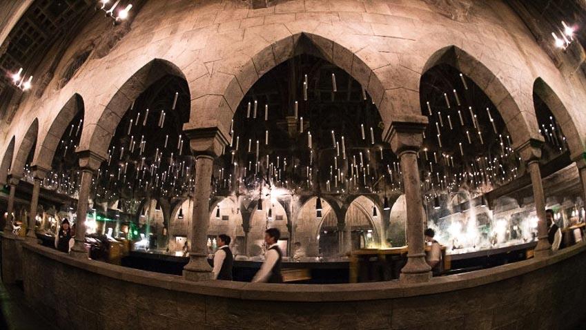 Căn phòng kỳ bí của pháp sư Hogwarts tại phim trường Universal
