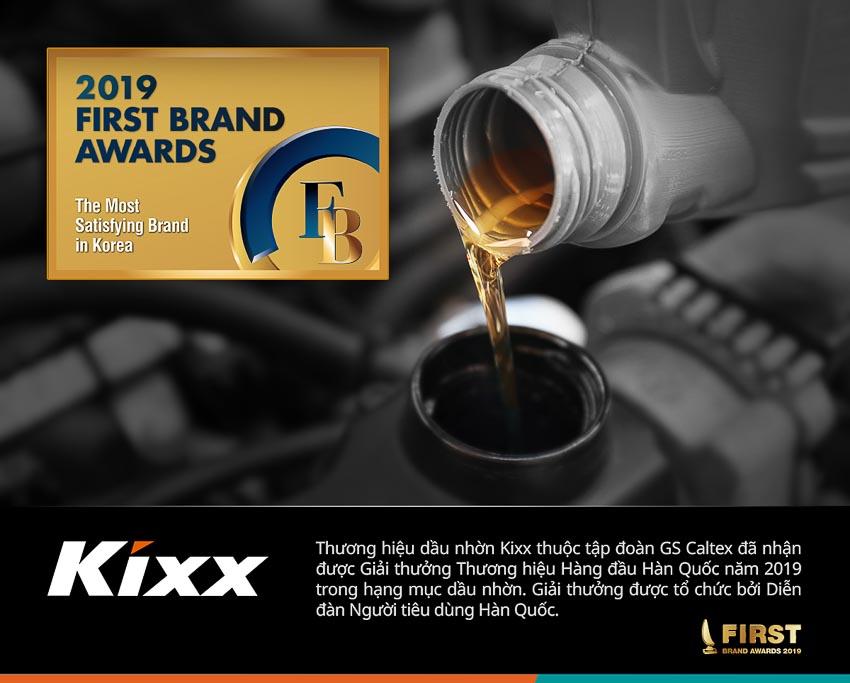 Thương hiệu dầu nhờn Kixx - Thương hiệu Dầu nhờn Hàng đầu Hàn Quốc 1
