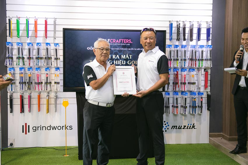 Thương hiệu golf GRINDWORKS và MUZIIK ra mắt tại thị trường Việt Nam 6