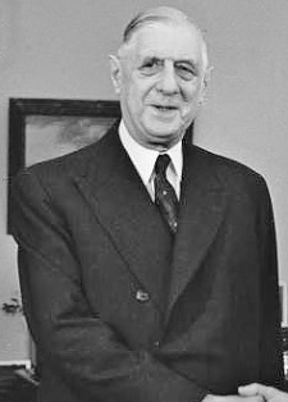 Tổng thống Pháp Charles de Gaulle