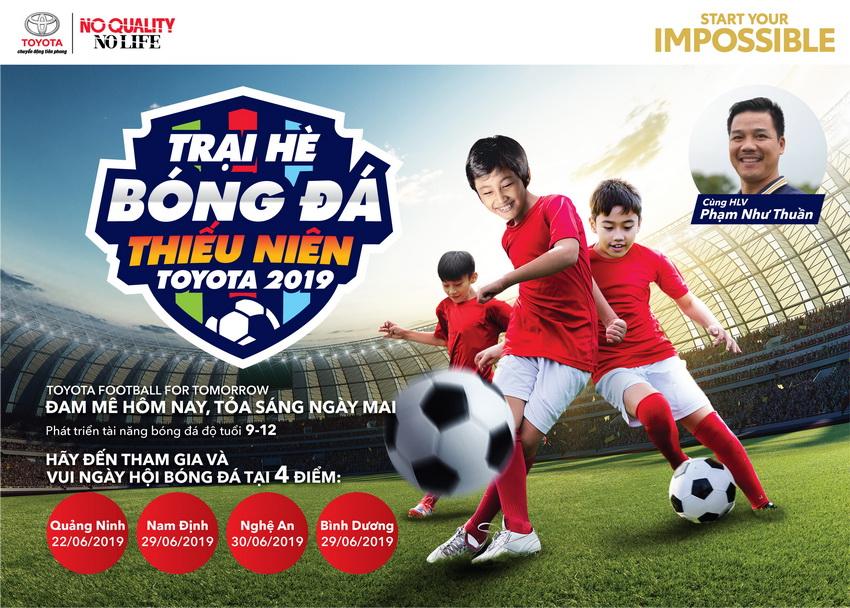 Trại hè Bóng đá Thiếu niên Toyota 2019