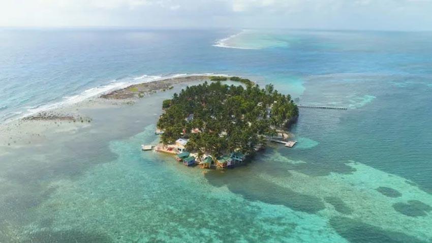 Văn phòng bungalow tuyệt đẹp cạnh bờ biển ở Belize 1