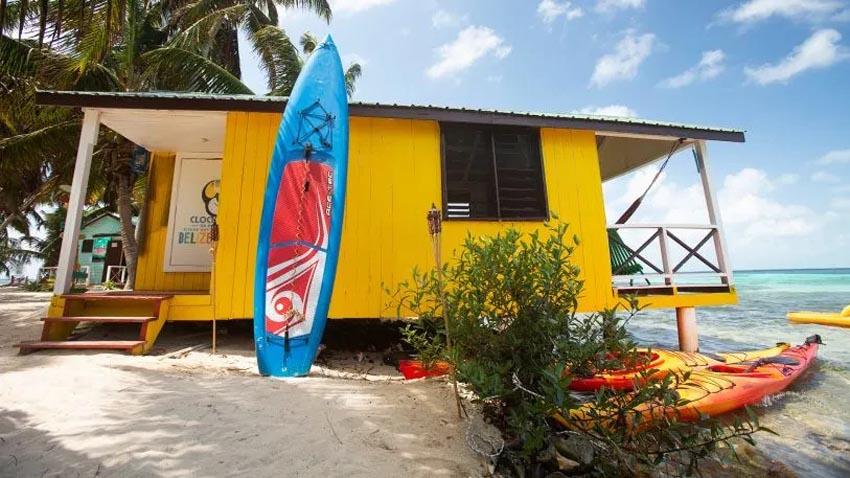 Văn phòng bungalow tuyệt đẹp cạnh bờ biển ở Belize 3