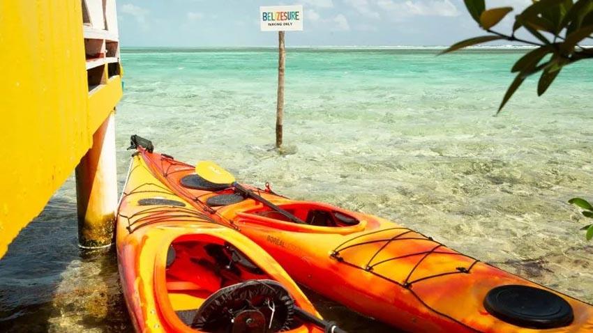 Văn phòng bungalow tuyệt đẹp cạnh bờ biển ở Belize 4