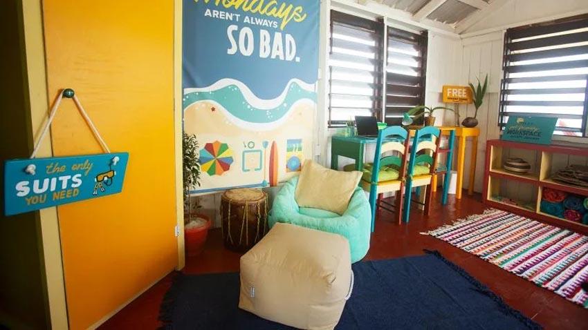 Văn phòng bungalow tuyệt đẹp cạnh bờ biển ở Belize 5