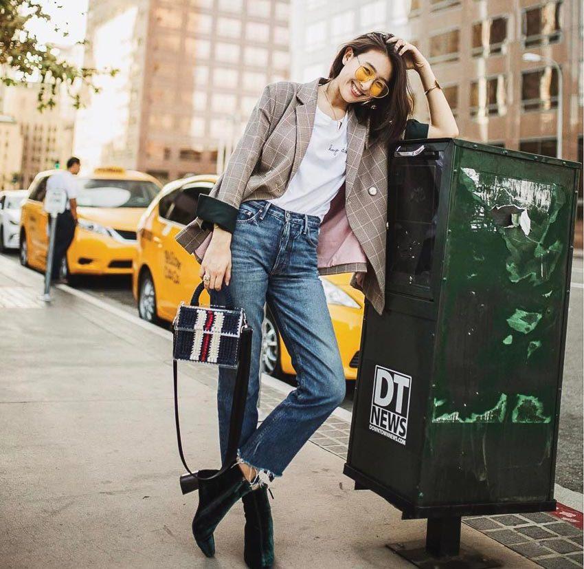 Bộ đôi jeans và áo phông: Kết hợp sao cho tươi mới? 1
