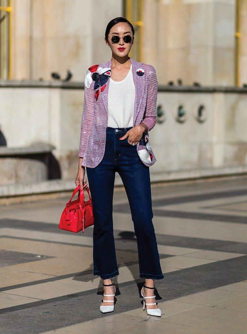 Bộ đôi jeans và áo phông: Kết hợp sao cho tươi mới? 4