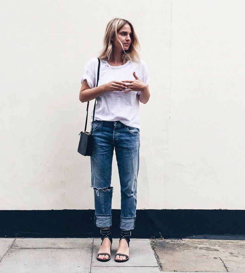 Bộ đôi jeans và áo phông: Kết hợp sao cho tươi mới? 8