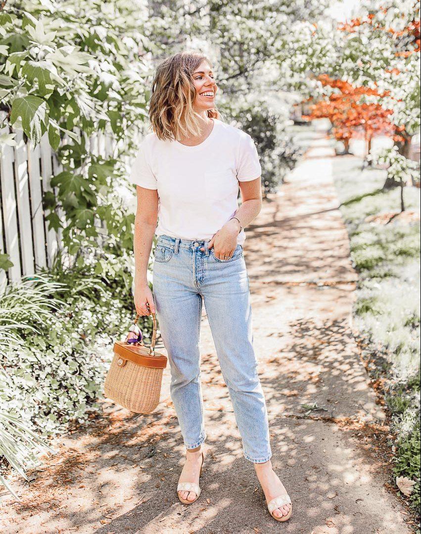 Bộ đôi jeans và áo phông: Kết hợp sao cho tươi mới? 9