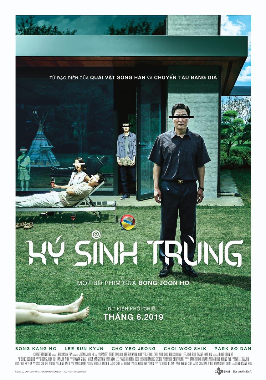 Phim tháng 6: Parasite - đoạt giải Cành cọ vàng - sắp ra mắt khán giả Việt Nam 4