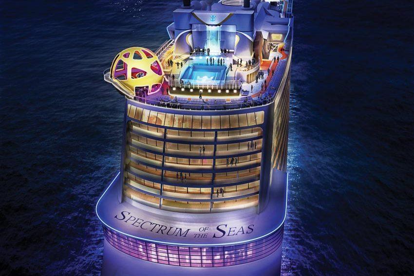 Đón hè trên biển với siêu du thuyền Spectrum of the Seas