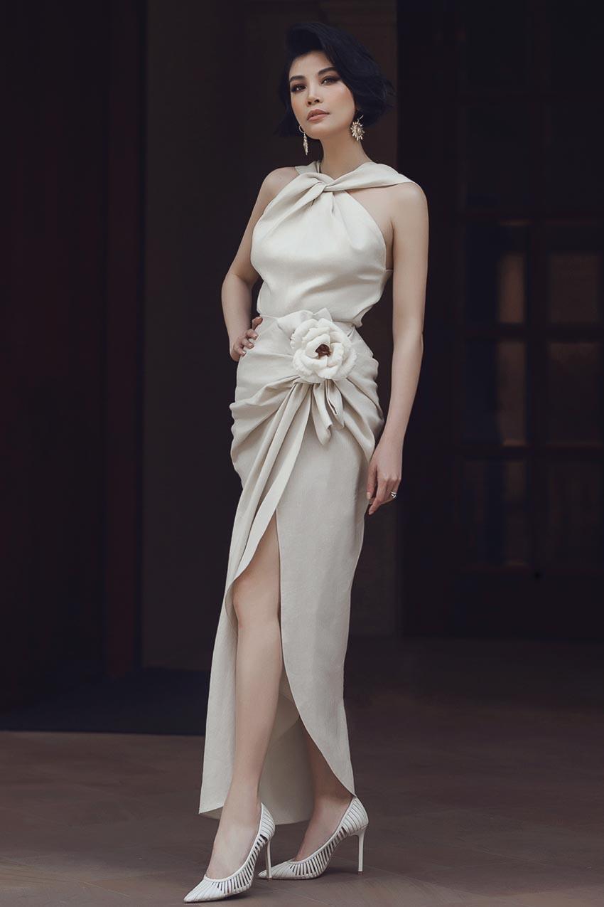 Nhẹ nhàng và sang trọng với trang phục linen của NTK Đỗ Mạnh Cường 6
